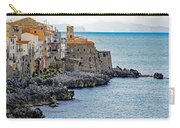 View Of Cefalu Sicily Carry-all Pouch