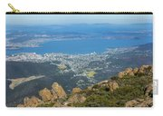 View Of City From Mountain Top Carry-all Pouch