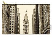 View Of Cityhall From Broad Street In Philadelphia Carry-all Pouch