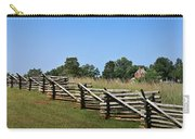 View Of Clover Hill Tavern Appomattox Court House Virginia Carry-all Pouch
