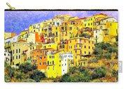 View Of Corniglia - Cinque Terre Carry-all Pouch