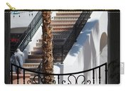 View Of Courtyard Through Adobe Doorway Photograph By Colleen Carry-all Pouch