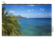 View Of Diamond Head Carry-all Pouch
