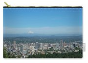 View Of Downtown Portland Oregon From Pittock Mansion Carry-all Pouch