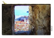 View Of Dubrovnik  Carry-all Pouch