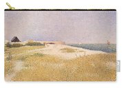 View Of Fort Samson Carry-all Pouch by Georges Pierre Seurat