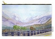 View Of Franconia Notch Carry-all Pouch