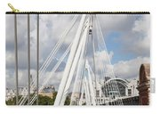 View Of Golden Jubilee Bridge, Thames Carry-all Pouch