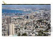 View Of Haifa Carry-all Pouch