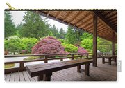 View Of Japanese Garden From The Veranda Carry-all Pouch