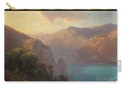 View Of Lac De Lucerne Seen From The Seelisberg, Switzerland Carry-all Pouch