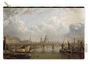 View Of London  Carry-all Pouch