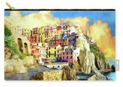 View Of Manarola Cinque Terre Carry-all Pouch