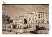View Of Montgomery County Courthouse From The Southside In Sepia Carry-all Pouch
