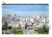 View Of Old Town Havana Carry-all Pouch