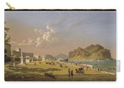 View Of Palermo 1845, Robert Salmon Carry-all Pouch