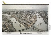 View Of Pittsburgh, 1902 Carry-all Pouch