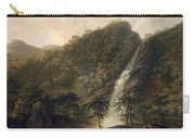 View Of Powerscourt Waterfall Carry-all Pouch