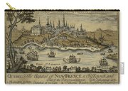 View Of Quebec City 1759 Carry-all Pouch