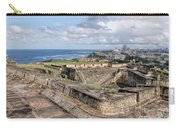 View Of San Juan From The Top Of Fort San Cristoba Carry-all Pouch