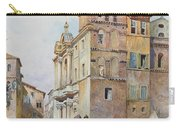 View Of Santa Maria In Monticelli, Rome  Carry-all Pouch