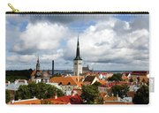 View Of St Olav's Church Carry-all Pouch by Fabrizio Troiani