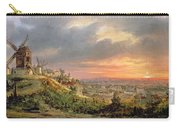 View Of The Butte Montmartre Carry-all Pouch