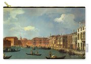 View Of The Canal Of Santa Chiara Carry-all Pouch by Canaletto