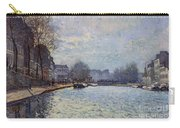 View Of The Canal Saint-martin Paris Carry-all Pouch