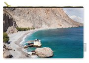 View Of The Glikanera Beach, Hora Carry-all Pouch