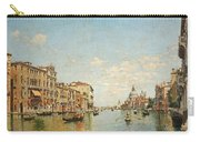 View Of The Grand Canal Of Venice Carry-all Pouch