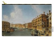 View Of The Grand Canal Venice With The Fondaco Dei Tedeschi Carry-all Pouch