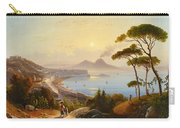 View Of The Gulf Of Naples Carry-all Pouch