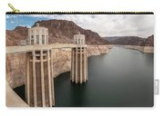 View Of The Hoover Dam Lake With Low Water Reserves Carry-all Pouch