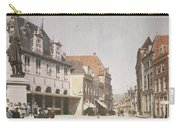 View Of The Market Horn  With The Statue Of Jan Pietersz Coen And The Waag Anonymous  1907   1930 Carry-all Pouch