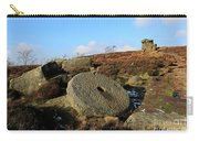 View Of The Mother Cap Gritstone Rock Formation, Millstone Edge Carry-all Pouch