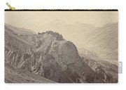 View Of The Mountains Of The Himalayas, Samuel Bourne, 1866 Carry-all Pouch