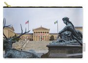 View Of The Museum Of Art In Philadelphia From The Parkway Carry-all Pouch