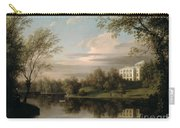 View Of The Pavlovsk Palace Carry-all Pouch by Carl Ferdinand von Kugelgen