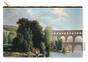 View Of The Pont Du Gard Carry-all Pouch