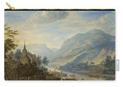View Of The Rhine River Near Reineck Carry-all Pouch