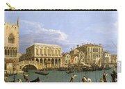 View Of The Riva Degli Schiavoni. Venice Carry-all Pouch