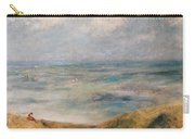 View Of The Sea Guernsey Carry-all Pouch by Pierre Auguste Renoir