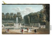 View Of The Tuileries Garden Carry-all Pouch
