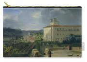 View Of The Villa Medici In Rome Carry-all Pouch