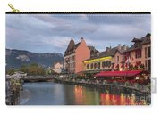 View Of Thiou River In Annecy Carry-all Pouch
