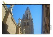View Of Toledo Cathedral In Sunny Day, Spain. Carry-all Pouch