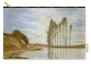 View On The Seine,  Harp Of The Winds , Homer Dodge Martin Carry-all Pouch