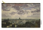 View Over Rooftops Of Paris Carry-all Pouch