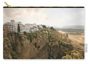 View Over The Tajo Gorge Ronda Home Of Bullfighting Carry-all Pouch